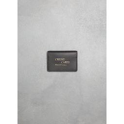 Balenciaga Leather Credit Card Holder | Totokaelo