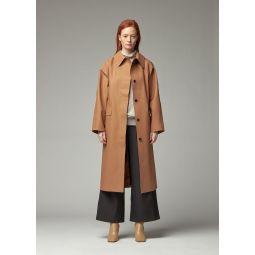 Rubber Tawny Coat in Beige