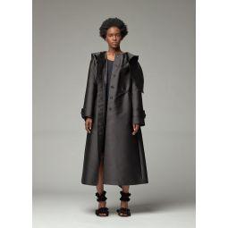 Lanvin Tie Neck Coat | Totokaelo