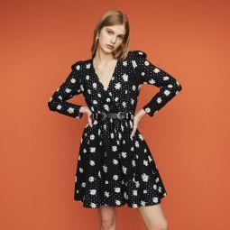 RAYOM Dress in daisy guipure