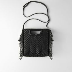 119MPADDED Quilted leather M bag