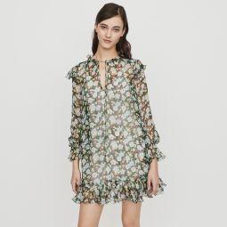 RULLINA Short dress with ruffles