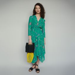 RAYEMA Long dress in floral print