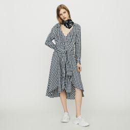 RAPRITA Midi shirt dress in gingham print