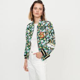 BIKAEL Floral print jacket
