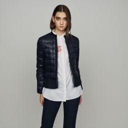 GAYA Lightweight down jacket with basque