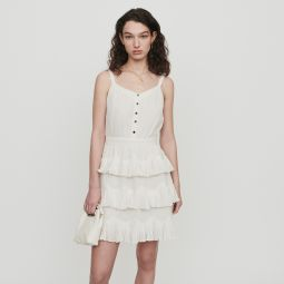 RUSTIVAN Ruffled dress with straps
