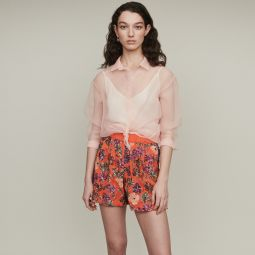IZUL Shorts with sequin embroidery