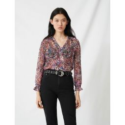 220PARION Mom-style high-waisted straight jeans