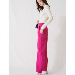 220POSIA Fuchsia tailored trousers