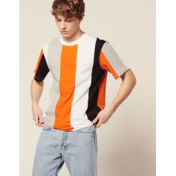 T-Shirt With Wide Stripes