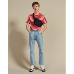 T-Shirt With Contrasting Stripes