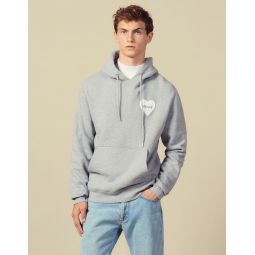 Cotton hoodie with PEACE patch