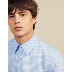 Formal Striped Cotton Shirt