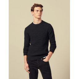 Decorative stitch sweater