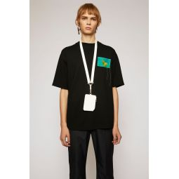 Jellyfish-patch t-shirt black