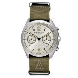 Khaki Aviation Pilot Pioneer Auto Chrono Mens Watch H76456955
