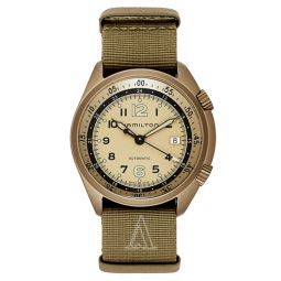 Khaki Aviation Pilot Pioneer Auto Mens Watch H80435895