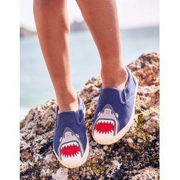 Novelty Slip-On Shoes - Beacon Blue