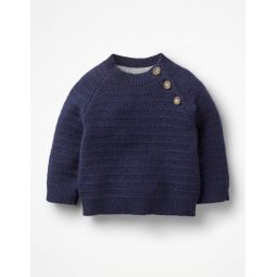 Cashmere Sweater - Beacon Blue