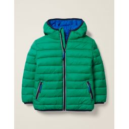 Pack-Away Padded Jacket - Hike Green