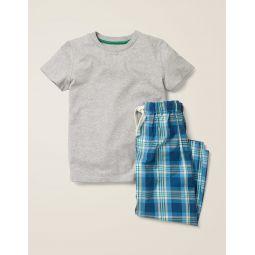 Pajama Set - College Blue/Hike Green