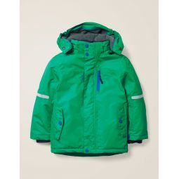 All-Weather Waterproof Jacket - Hike Green