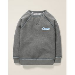 Awesome Sweatshirt - Dark Grey Awesome