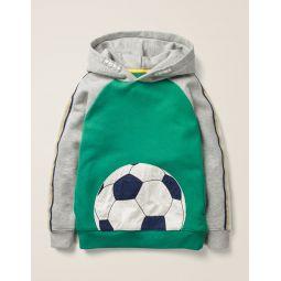 Football Hoodie - Hike Green Football