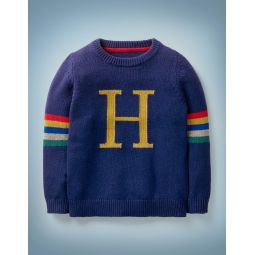 Harry Potter Knitted Sweater - College Blue