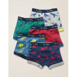 5 Pack Boxers - Dinosaurs