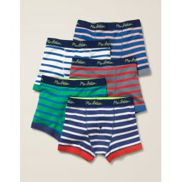 5 Pack Boxers - Multi Stripes