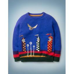 Quidditch Match Sweater - Duke Blue
