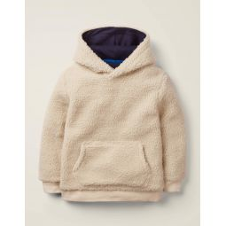 Textured Hoodie - Terrier Brown
