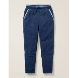 Microfleece Joggers - College Blue