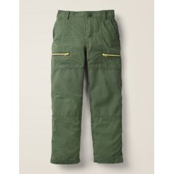 Lined Skate Pants - Monster Green