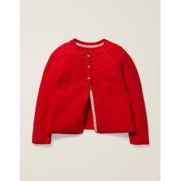 Everyday Cardigan - Poppadew Red
