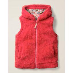 Cosy Vest - Carmine Red