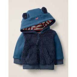 Novelty Hoodie - Starboard Blue Bear