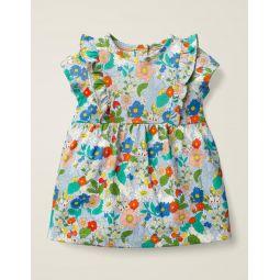 Printed Jersey Dress - Multi Baby Florabunda
