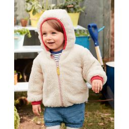 Printed Reversible Coat - Provence Dusty Pink Farm