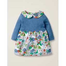 Scallop Knitted Dress - Multi Baby Florabunda