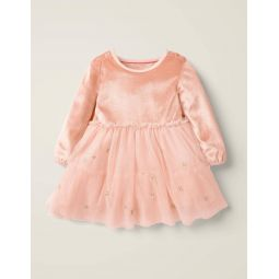 Christmas Tulle Dress - Provence Dusty Pink