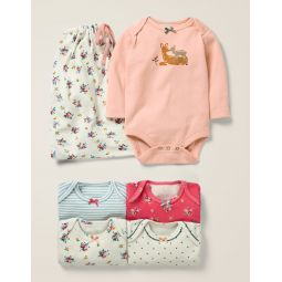 5 Pack Fawn Bodies - Multi Floral Fawn