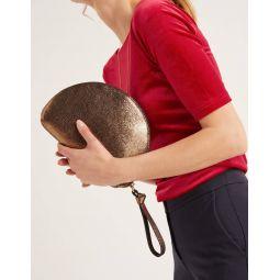 Astwood Clutch Bag - Bronze Metallic