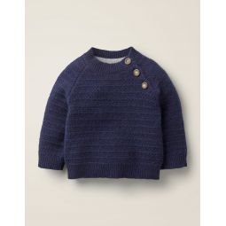 Cashmere Sweater - Beacon Blue