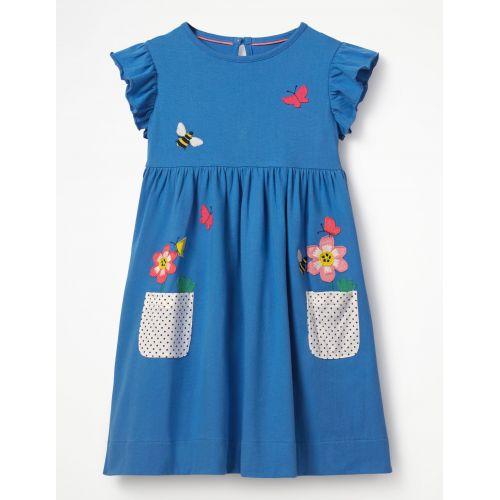 보덴 Applique Pocket Dress