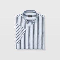 Slim Stripe Short-Sleeve Shirt