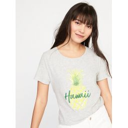 Hawaii Graphic Tee for Women Hot Deal