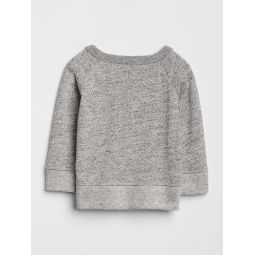 Baby Marled Pocket Sweatshirt